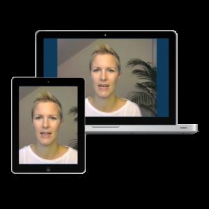 Daniela Keller im Webinar